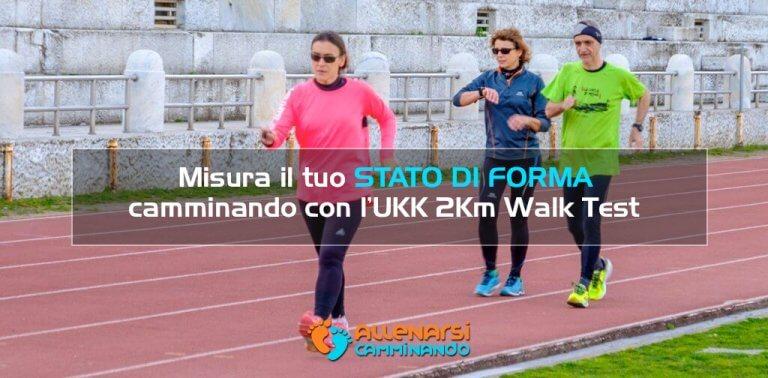 Misura il tuo stato di forma camminando con l'UKK 2Km Walk Test